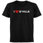 I Love G'ville Dark T-Shirt