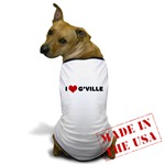 I Love G'ville Dog T-Shirt
