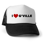I Love G'ville Trucker Hat
